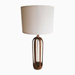 Lampada da tavolo scultorea californiana di Modeline, Circa anni '60