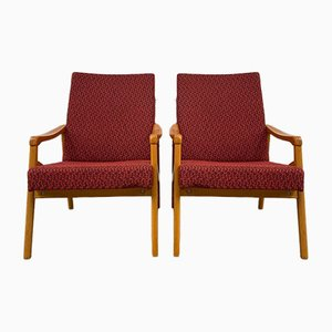 Armchairs by J. Jiroutek for Interier Praha, Set of 2