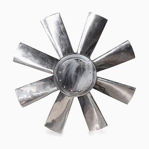 Grande Lame de Ventilateur d'Entrée Polie, Circa 1950