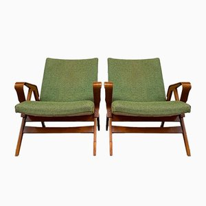 Armchairs from Tatra Pravenec, Set of 2