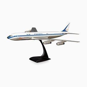 Painted Aluminium Airplane Model from Air France, Circa 1970