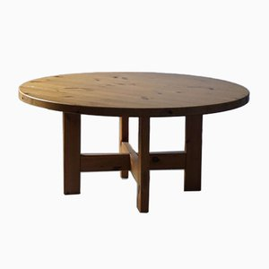 Model Rw 152 Pine Dining Table by Roland Wilhelmsson for Karl Andersson & Son
