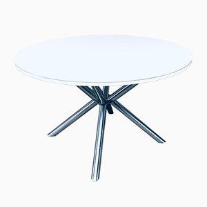 Postmodern Italian Cross Frame Dining Table, 1990s