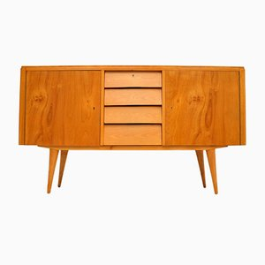 Satin Birch Sideboard, 1950s