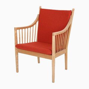 Modell PP 105 Sessel aus Buche und Wolle von Hans J. Wegner für PP Møbler