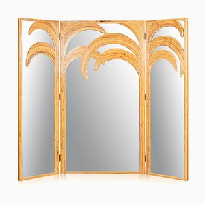 20th-Century Italian Parma Series Mirrored Folding Screen, 1970s