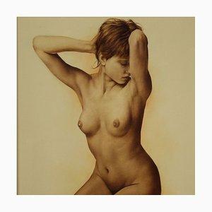 Pintura desnuda femenina