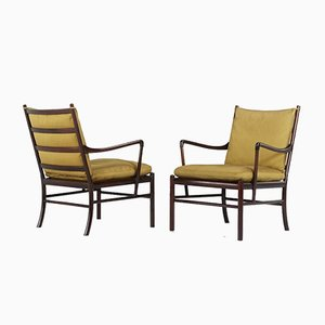 Model Pj 149 Armchairs by Ole Wanscher for Poul Jeppesen, Set of 2