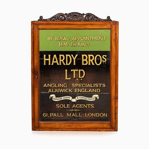 20th Century English Angling Shop Display Cabinet, Hardy Brothers, 1910s
