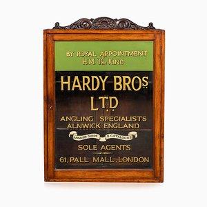 Vitrina inglesa de pesca inglesa, siglo XIX, Hardy Brothers, años 10