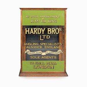 Vitrina inglesa de pesca inglesa de Hardy Brothers, años 10
