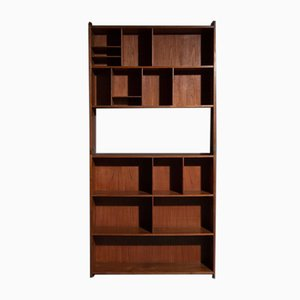Teak 2-Part Wall Cabinet, Set of 2