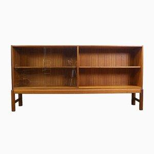 Mid-Century Teak Bücherregal mit Glastüren von AH McIntosh für McIntosh
