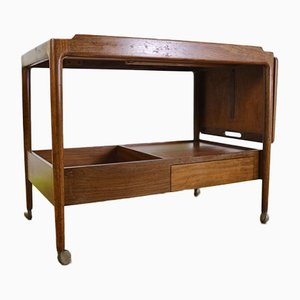 Mid-Century Teak Danish Drinks Trolley by Lb Kofod Larsen for G-Plan