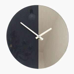 Orologio da parete postmoderno di Scholer, anni '80