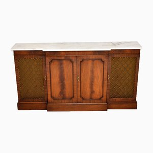 Antique Georgian Style Sideboard with Marble Top