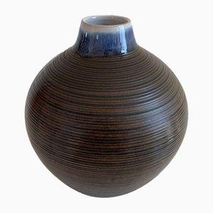 Vintage Keramik B53 Vase / Topf von Jacob E. Bang.