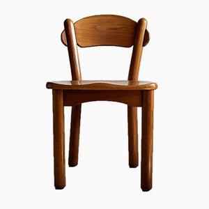 Dänische Vintage Stühle aus Massivem Kiefernholz von Rainer Daumiller, 4er Set