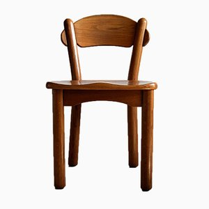 Vintage Danish Solid Pine Chairs by Rainer Daumiller, Set of 4