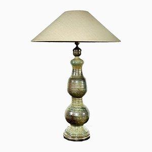 Große Keramik Tischlampe, 1960er