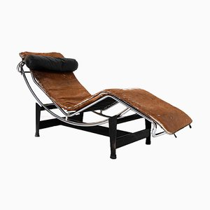 Model Lc4 Chaise Longue by Le Corbusier, C. Perriand & P. Jeanneret for Cassina