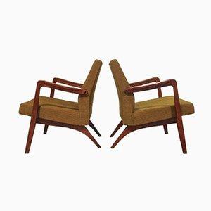 Belgische Easy Chairs von Jos de Mey für Van den Berghe Pauvers, 1955, 2er Set
