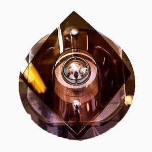 Lámpara de pared era espacial vintage de Herda Amsterdam