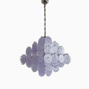 Lámpara de araña de cristal de Murano multicolor de Vistosi, 1988