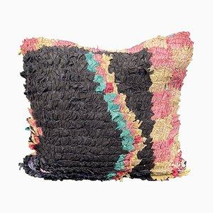 Vintage Boucherouite Cushion Cover