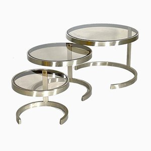 Nesting Tables, France, 1970s, Set of 3