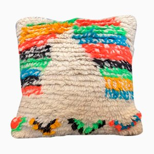 Vintage Moroccan Boujad Berber Pillow Cover