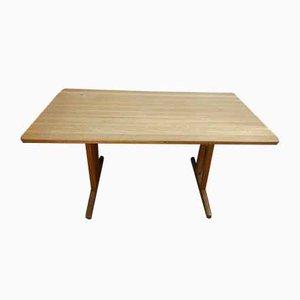 Dänischer Massiver Eichenholz Shaker Tisch von Børge Mogensen