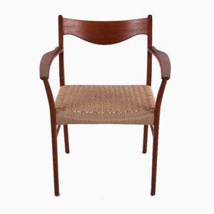 Armchair by Einar Larsen & Aksel Bender Madsen, Denmark, 1960s