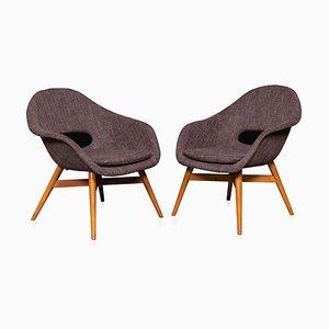 Stühle von der Brussels Expo, Circa 1950, 2er Set