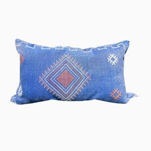 Cojín de cactus marroquí vintage de seda