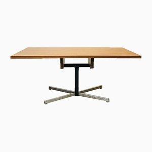 Teak und Chrom Tisch, 1960er