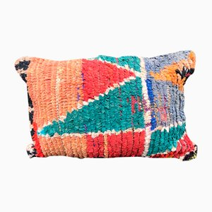 Vintage Moroccan Berber Boujad Pillow Cover