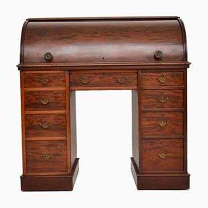 Antique Victorian Cylinder Top Desk