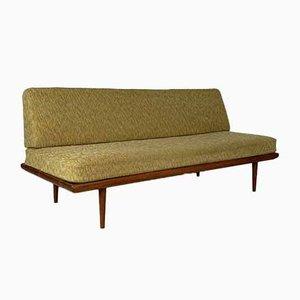 Sofá cama de tres plazas vintage de Peter Hvidt y Orla Mølgaard Nielsen para France & Son