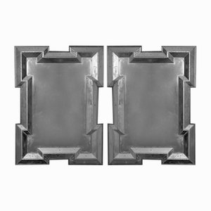 Neoclassical Glass Wall Mirrors, 18th Century, Set of 2