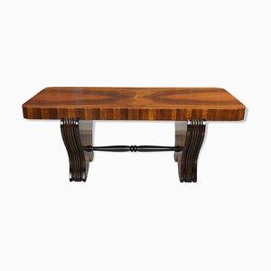 Art Deco Couchtisch aus Holz