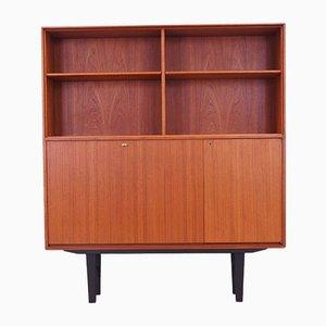 Scandinavian Teak Bookcase by Bertil Gottfrid Hagen for Bertil Fridhagen, 1960s