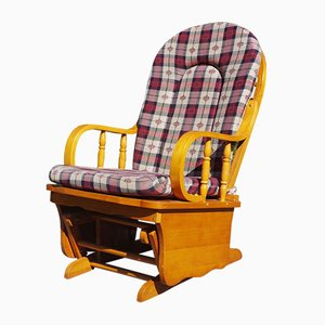 Pine Rocking Chair, 1970s