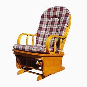 Rocking Chair en Pin, 1970s