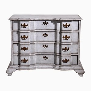 Scandinavian Baroque Chest, 18th-Century