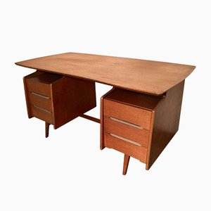 Modernist Desk by Jacques Hauville for Bema