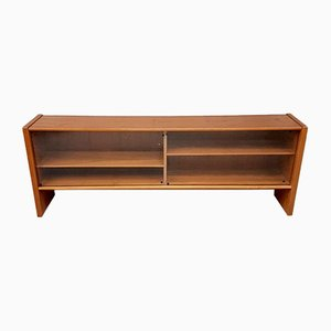 Mid-Century Danish Teak & Glass Fronted Sideboard from Skovby