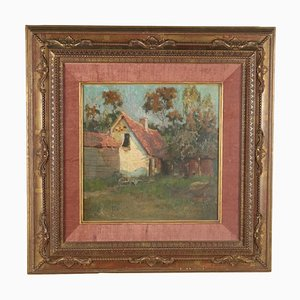 Landscape with House Canvas