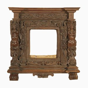 Carved Walnut Frame