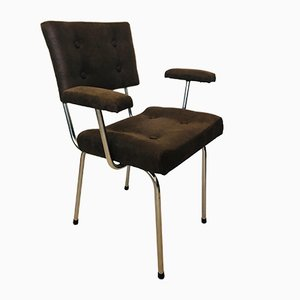 Brown Czech Tubular Chair from Belet, 1970s